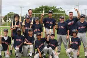 Sports team winning